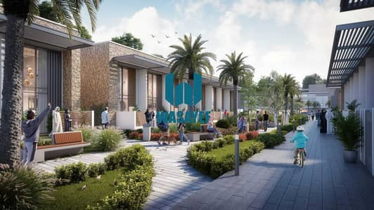 3 Bedroom Townhouse for Sale in Dubailand, Dubai - Corner Townhouse, Phase 1, The best layout. . .