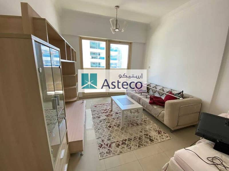 2 Furnished 1BHK with Marina View| Chiller free