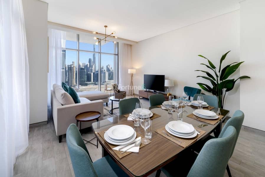 شقة في ذا آتريا الخليج التجاري 2 غرف 3200000 درهم - 5376214