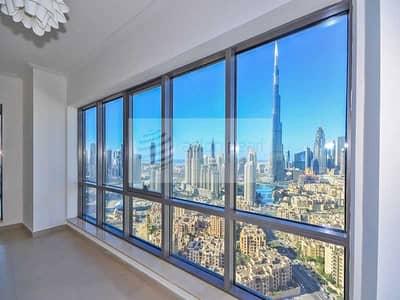 شقة 2 غرفة نوم للبيع في وسط مدينة دبي، دبي - Vacant On Transfer 2Bedroom High Floor Large Unit
