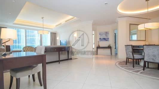 2 Bedroom Apartment for Rent in Downtown Dubai, Dubai - Exclusive | Corner Unit | All Bills Included