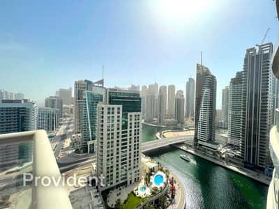 فلیٹ 2 غرفة نوم للبيع في دبي مارينا، دبي - Full Marina View|Basement Storage|Great Location