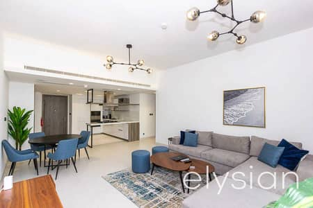 2 Bedroom Flat for Rent in Palm Jumeirah, Dubai - Modern 2 Bed | Furnished | Private Beach Access