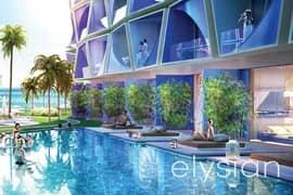 Pool and sea view | Luxurious Studio | 10% ROI
