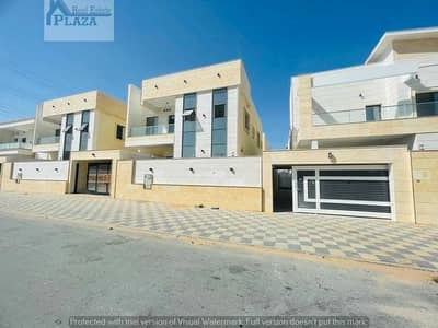 5 Bedroom Villa for Sale in Al Yasmeen, Ajman - Modern design villa with a very large land and building area, personal finishing, freehold Villa for sale, very special location, super deluxe finishi