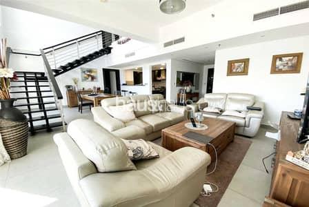 شقة 3 غرف نوم للبيع في تلال الجميرا، دبي - 3 Bed Duplex   Maids   Community View   Vacant Jan