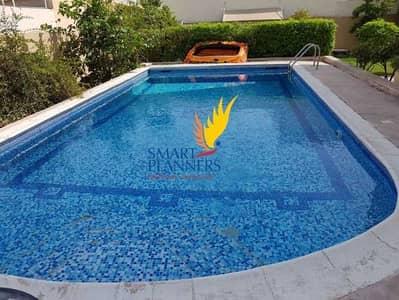 فیلا 5 غرف نوم للايجار في البرشاء، دبي - Available now   Big Garden + Pool   Perfect Area