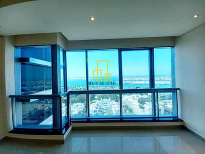 فلیٹ 2 غرفة نوم للايجار في المیناء، أبوظبي - شقة في برج سيلفر ويف المیناء 2 غرف 90000 درهم - 5458061
