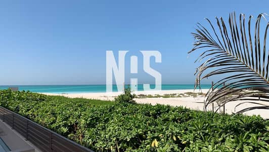 5 Bedroom Villa for Sale in Saadiyat Island, Abu Dhabi - Beach Front Villa   Direct Beach Access   Private Pool
