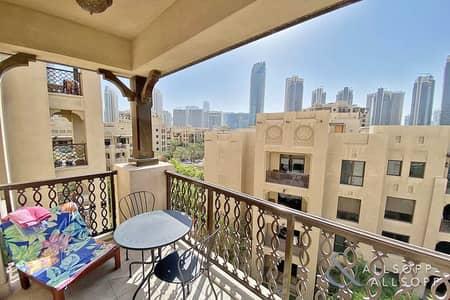شقة 1 غرفة نوم للايجار في المدينة القديمة، دبي - Unfurnished | One Bed | Chiller Included