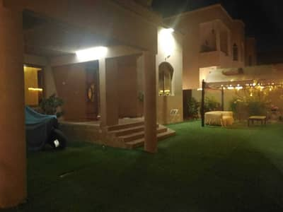 فیلا 4 غرف نوم للايجار في المويهات، عجمان - فيلا حصرية مفروشة بالكامل 4 غرف نوم + 2 مجلس + صالة + خادمات وحديقة خاصة