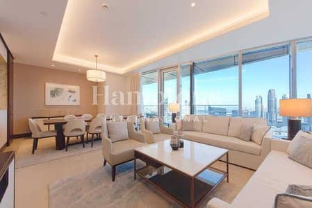 بنتهاوس 4 غرف نوم للبيع في وسط مدينة دبي، دبي - High Floor | 4 Bedroom | Full Burj View