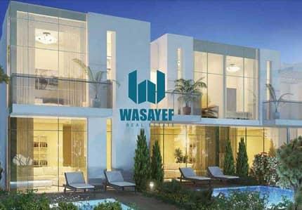3 Bedroom Townhouse for Sale in DAMAC Hills 2 (Akoya Oxygen), Dubai - CORNER UINT   Zinnia Single Row 2 parking
