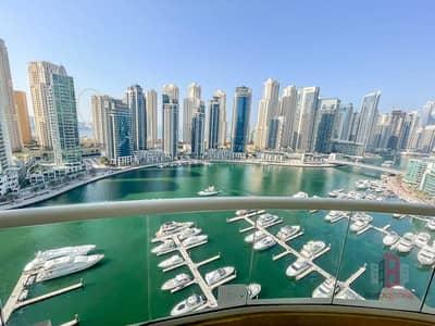 فلیٹ 3 غرف نوم للايجار في دبي مارينا، دبي - شقة في شراع المارينا دبي مارينا 3 غرف 163000 درهم - 5459551