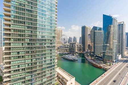 شقة 1 غرفة نوم للبيع في دبي مارينا، دبي - Partial Marina View | Great Layout | Investor Deal