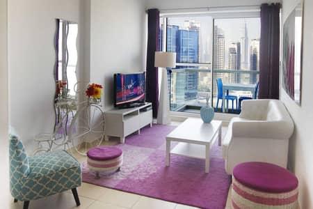 شقة 1 غرفة نوم للايجار في الخليج التجاري، دبي - شقة في مساكن ماي فير الخليج التجاري 1 غرف 59000 درهم - 5459636