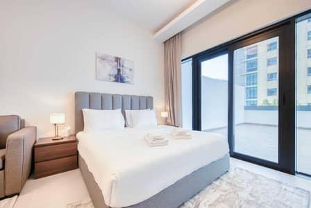 Studio for Rent in Business Bay, Dubai - Contemporary Studio w/Huge Terrace in Business Bay