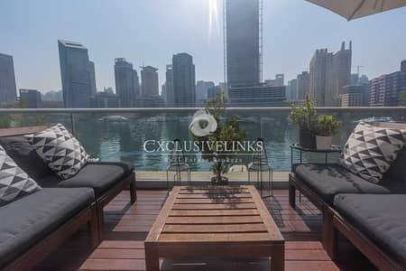شقة 1 غرفة نوم للبيع في مدينة دبي للإنترنت، دبي - Full Marina View | Upgraded | Huge Terrace