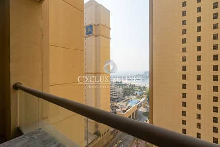 1 Bedroom Apartment for Rent in Jumeirah Beach Residence (JBR), Dubai - Spacious One Bedroom  in  Amwaj 4 -  Available Now