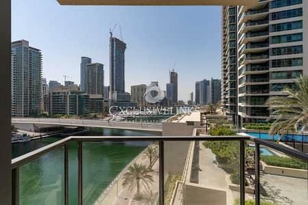 فلیٹ 1 غرفة نوم للبيع في دبي مارينا، دبي - Full Marina View | 1+Study | High Returns