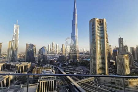 شقة 2 غرفة نوم للبيع في وسط مدينة دبي، دبي - Burj Khalifa View | Serviced | Ready Now | 3 Yr PP