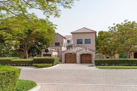 5 Bedroom Villa for Sale in Jumeirah Golf Estates, Dubai - Stunning Inverness on Earth course - tenanted