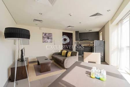 2 Bedroom Flat for Rent in Dubai Sports City, Dubai - Modern Furnishings | Large Balcony | Great Views