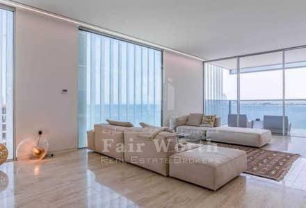 شقة 3 غرف نوم للايجار في نخلة جميرا، دبي - شقة في مربعة ريزيدنس ذا كريسنت نخلة جميرا 3 غرف 390000 درهم - 5460006