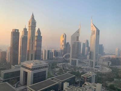 فلیٹ 1 غرفة نوم للايجار في مركز دبي المالي العالمي، دبي - شقة في سكاي جاردنز مركز دبي المالي العالمي 1 غرف 62000 درهم - 5460201