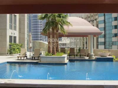 2 Bedroom Apartment for Rent in Al Markaziya, Abu Dhabi - Large Two Beds, Stunning Views, Great Location