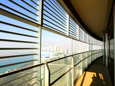 4 Bedroom Flat for Rent in Corniche Road, Abu Dhabi - Sea View Luxury Apartment |High Standard |Maid's