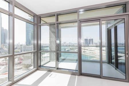 2 Bedroom Flat for Rent in Al Reem Island, Abu Dhabi - Brand New Corner Apartment| Balcony |Canal Views