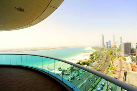 4 Bedroom Apartment for Rent in Corniche Road, Abu Dhabi - Stunning Views, Modern Apartment, Spacious