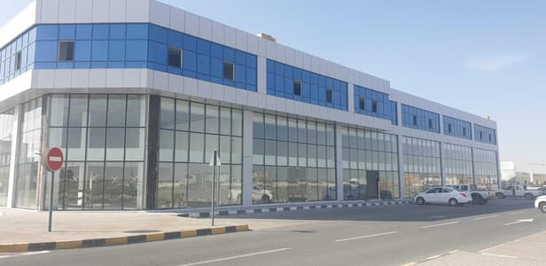 Industrial Land for Rent in Industrial Area, Sharjah - Shell & Core  Office Space| Industrial 18 Sharjah