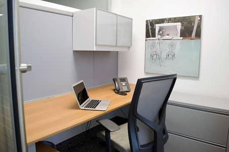 Office for Rent in Al Markaziya, Abu Dhabi - New & Furnished Office Space | w/ Tawtheeq