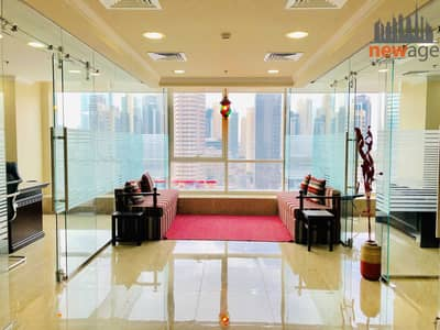 Office for Sale in Jumeirah Lake Towers (JLT), Dubai - Fully Furnished Office available for sale in Fortune Tower JLT