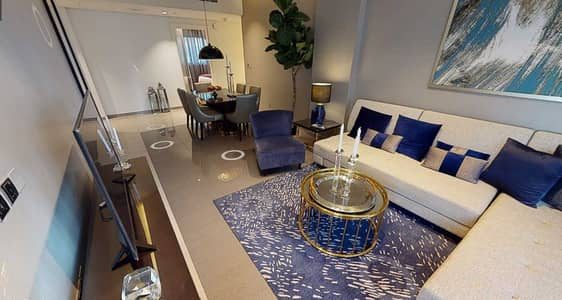 3 Bedroom Flat for Sale in Business Bay, Dubai - FULLY FURNISHED | BURJ KHALIFA SIDE VIEW | CLOSED KITCHEN |.