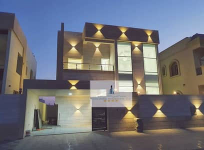 5 Bedroom Villa for Sale in Al Yasmeen, Ajman - Villa for sale freehold at an excellent price and the best places in Ajman Super Deluxe finishing
