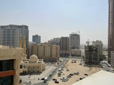 2 Bedroom Apartment for Rent in Al Sawan, Ajman - Close Kitchen || 2 Bedroom Hall For Rent In Ajman One Towers