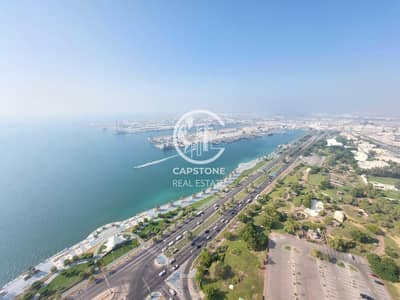 3 Bedroom Flat for Rent in Corniche Area, Abu Dhabi - Marvelous Corniche View! 3 Master BR Apt with Maid\'s| Don\'t Miss It