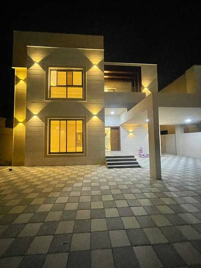 Villa for rent with a modern and European design next to Sheikh Mohammed bin Zayed Street