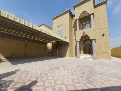Two-storey villa for rent in Ajman in Al Mowaihat  It consists of 5 rooms,