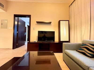 شقة 1 غرفة نوم للايجار في آل نهيان، أبوظبي - شقة في المعمورة آل نهيان 1 غرف 54999 درهم - 5464032