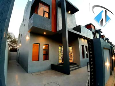5 Bedroom Villa for Sale in Al Zahya, Ajman - Modern villa for sale, including registration and completion fees, the most luxurious villas in Ajman at a very attractive price, with the design of p