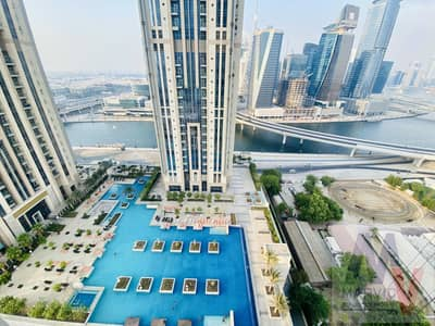 1 Bedroom Flat for Sale in Business Bay, Dubai - High Floor   Burj View   Canal View    Luxury 1 bed