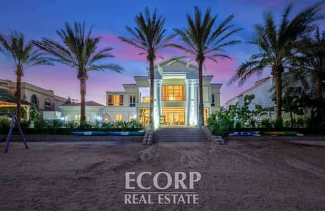 5 Bedroom Villa for Rent in Palm Jumeirah, Dubai - 5 BR Signature Villa   Upgraded   Excellent Views