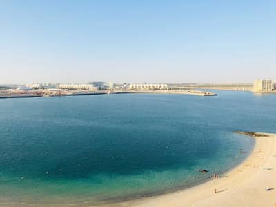 3 Bedroom Flat for Rent in Al Raha Beach, Abu Dhabi - Sea view-3 Master closed Kitchen-Maids room Bigger Layout