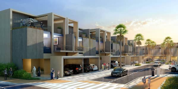 4 Bedroom Townhouse for Sale in Dubai Sports City, Dubai - 5 Years Payment Plan   Luxury Sevilla Victory Heights