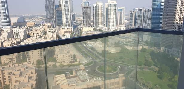 شقة 2 غرفة نوم للايجار في وسط مدينة دبي، دبي - شقة في برج بلفيو 1 أبراج بلفيو وسط مدينة دبي 2 غرف 139999 درهم - 5465542