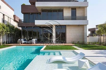 ارض سكنية  للبيع في جزيرة السعديات، أبوظبي - Exclusive Full Sea View Plot In Nudra